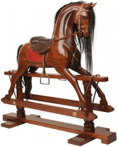 Victorian Toys-Hobby Horse or Rocking Horse